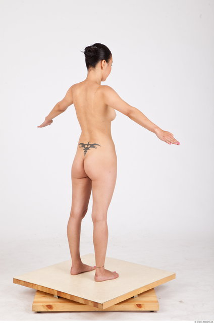 Whole Body Woman Asian Nude Average Photo textures