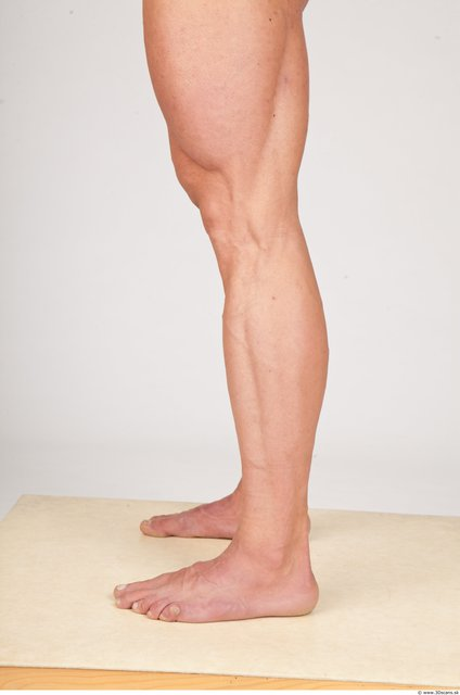 Whole Body Man White Underwear Muscular Photo textures