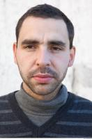 Male head photo reference 0091 0001