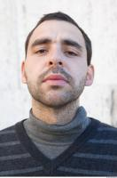 Male head photo reference 0091 0006