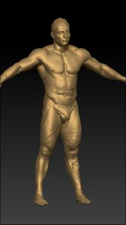 Full body 3D scan of underwear Terrence-1