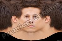 0001 Young man head premade texture 0001