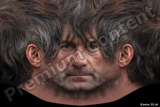 0008 Man head premade texture 0008