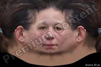 0002 Woman head premade texture 0002
