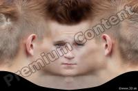 0010 Man head premade texture 0010