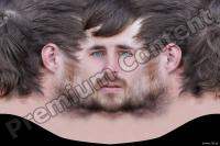 0003 Man head premade texture 0003